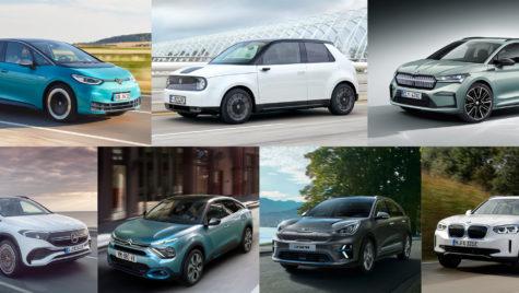 Finalistele Best Electric Car 2021, pe scurt