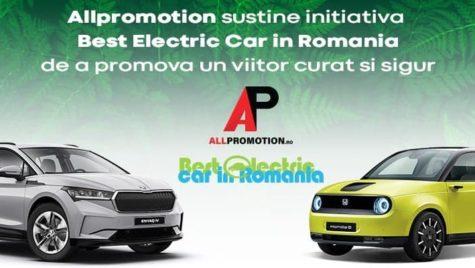 AllPromotion sustine initiativa Best Electric Car de a promova un viitor curat si sigur